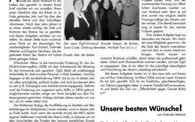 Rundbrief 2003*