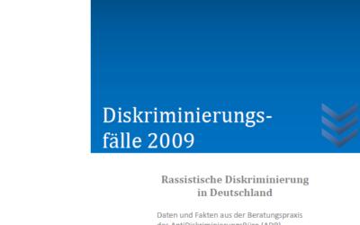 Diskriminierungsfälle 2009*